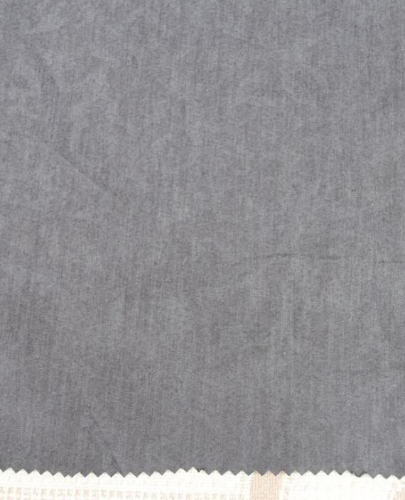 Ткань Джинс облегченный 0006 цвет серый картинка 2