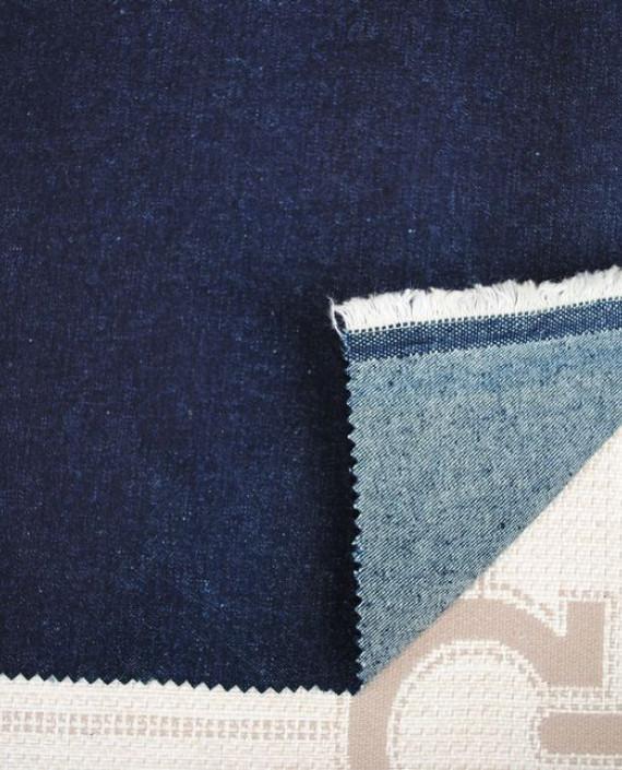 """Ткань Джинс """"Синий"""" 0011 цвет синий картинка"""