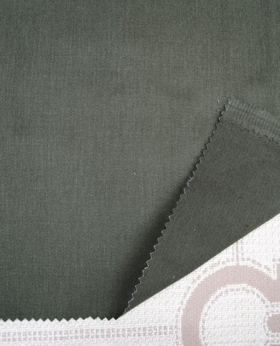 "Ткань Джинс ""Хаки"" 0012 цвет хаки картинка"