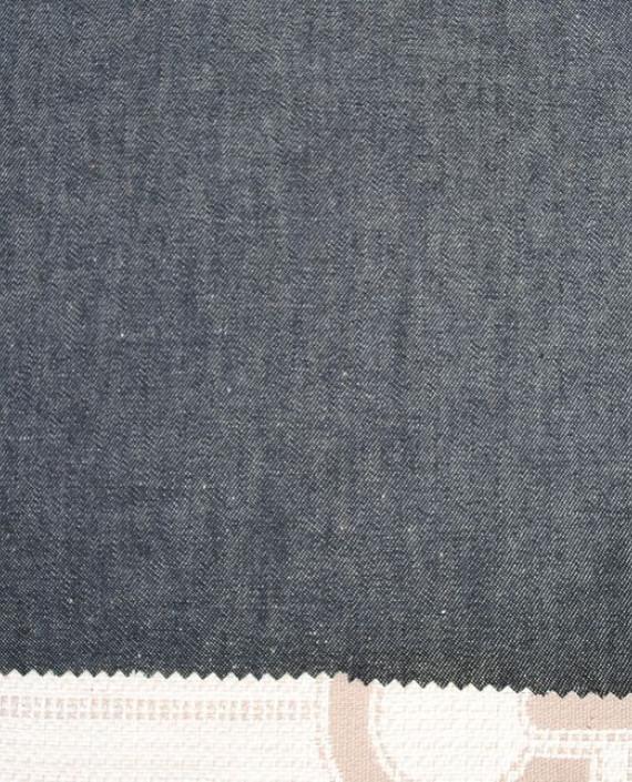 """Ткань Джинс """"Серый"""" 0014 цвет серый картинка"""