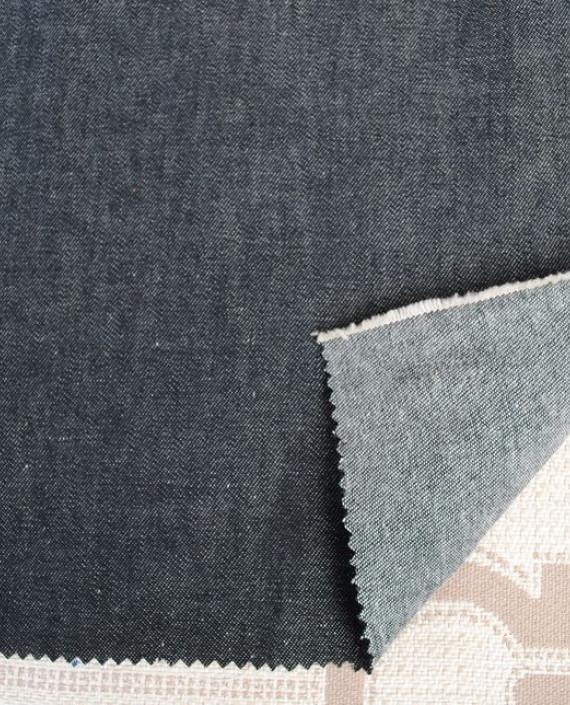 """Ткань Джинс """"Серый"""" 0014 цвет серый картинка 1"""