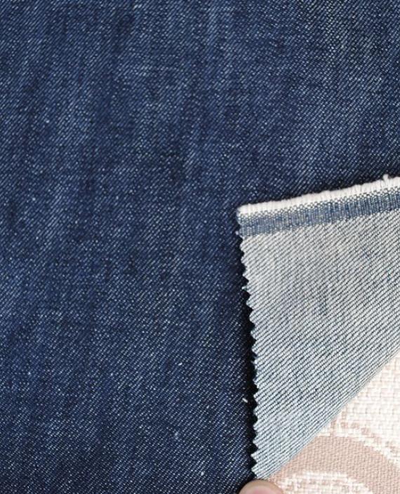"""Ткань Джинс """"Грязно серый"""" 0015 цвет синий картинка"""