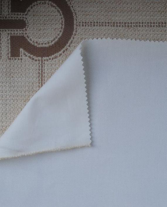 """Ткань Джинс """"Белый"""" 0019 цвет белый картинка 1"""
