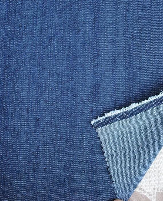 "Ткань Джинс ""Черное море"" 0022 цвет синий картинка"
