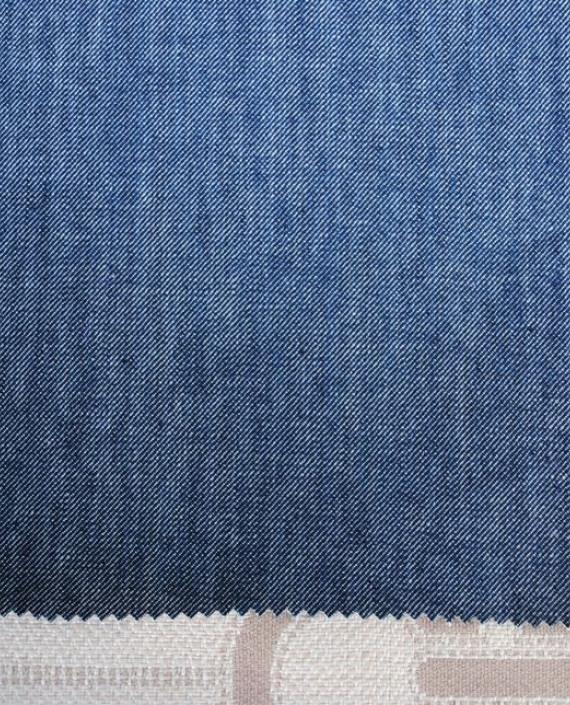 """Ткань Джинс """"Синяя пыль"""" 0026 цвет синий картинка"""