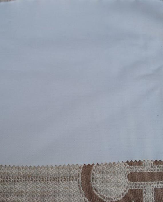"""Ткань Джинс """"Белый"""" плотный 0028 цвет белый картинка"""