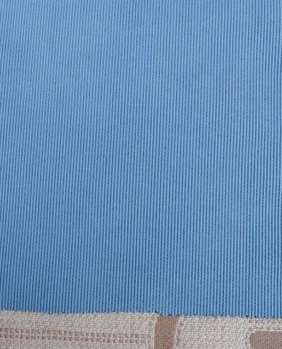 """Ткань Джинс """"С голубым покрытием"""" 0029 цвет голубой картинка"""