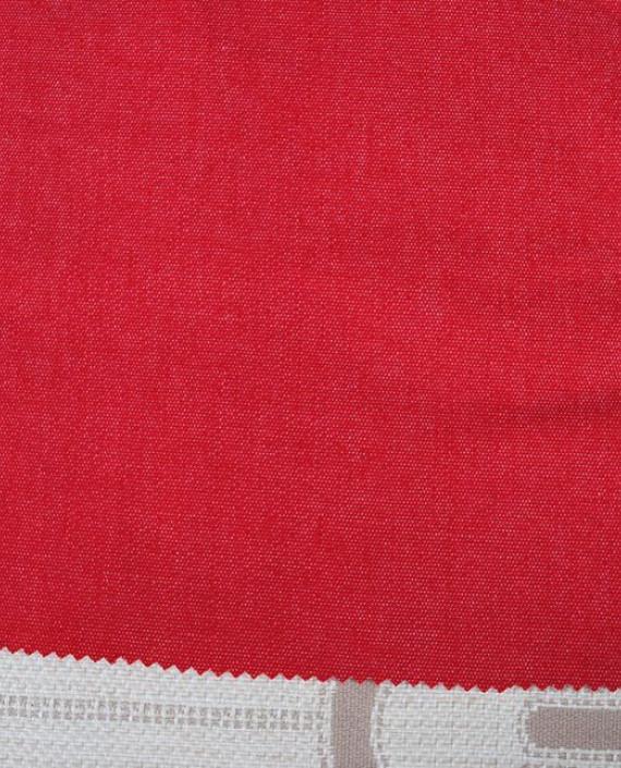 """Ткань Джинс """"Красная пыль"""" картинка 1"""