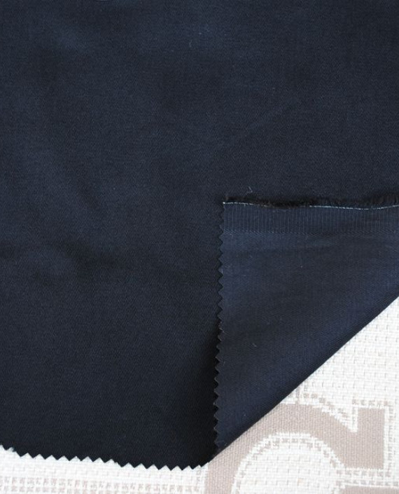 """Ткань Джинс """"Черный"""" 0035 цвет черный картинка"""