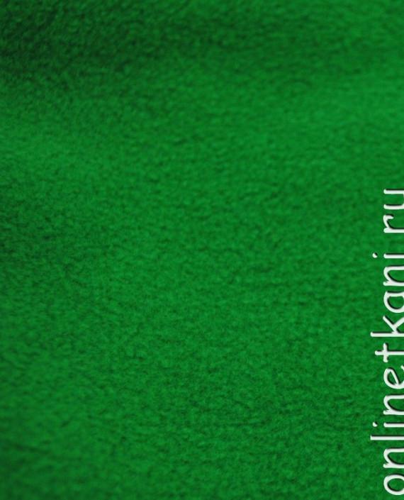 """Ткань Флис """"Зеленый"""" картинка"""