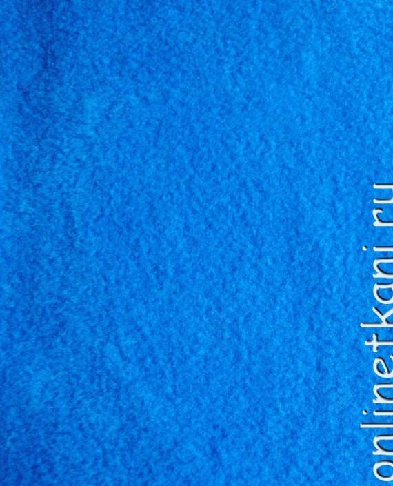 """Ткань Флис """"Голубой"""" 0006 цвет голубой картинка"""
