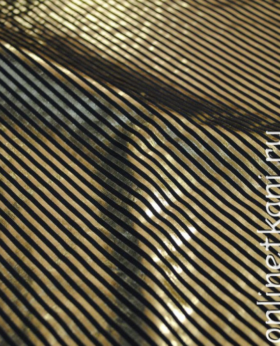 """Ткань голограмма """"Золотая пчелка"""" 007 цвет золотой картинка 1"""