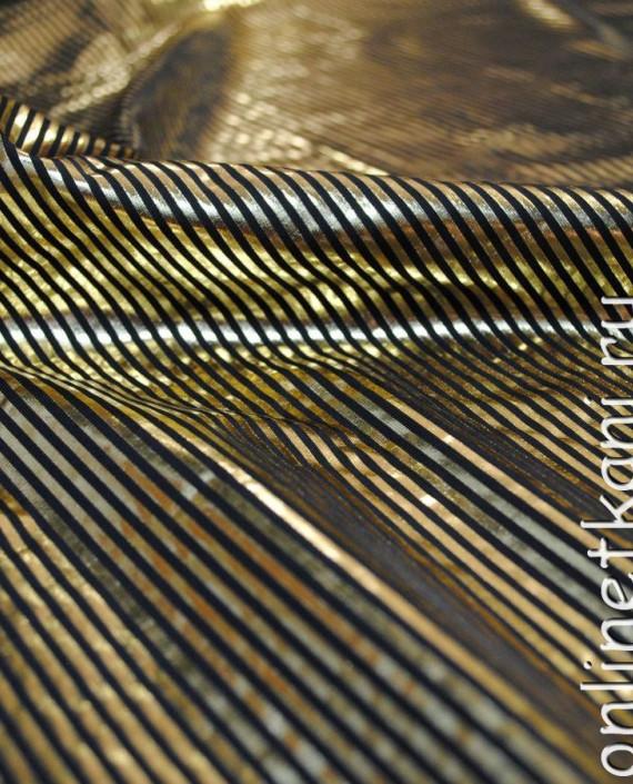 """Ткань голограмма """"Золотая пчелка"""" 007 цвет золотой картинка 2"""