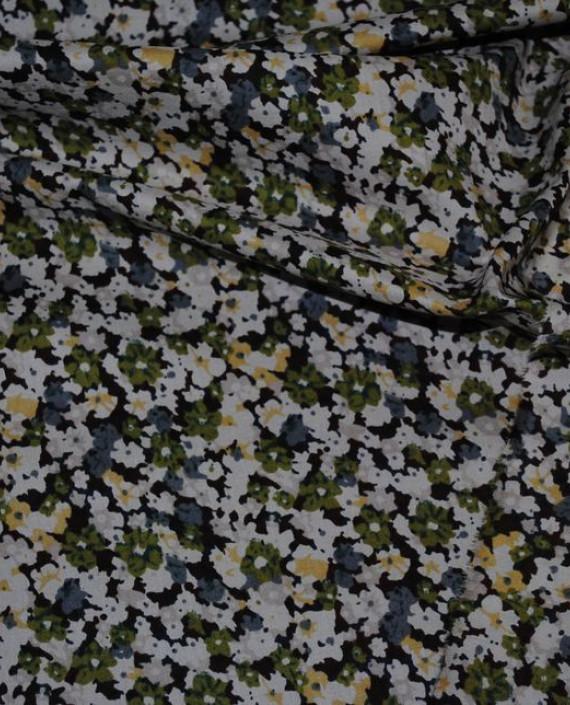 """Ткань Хлопок """"Луг"""" 0003 цвет разноцветный цветочный картинка 2"""