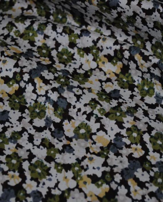 """Ткань Хлопок """"Луг"""" 0003 цвет разноцветный цветочный картинка"""