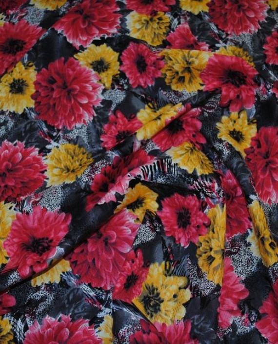 """Ткань Хлопок """"Пионы"""" 0006 цвет разноцветный цветочный картинка"""