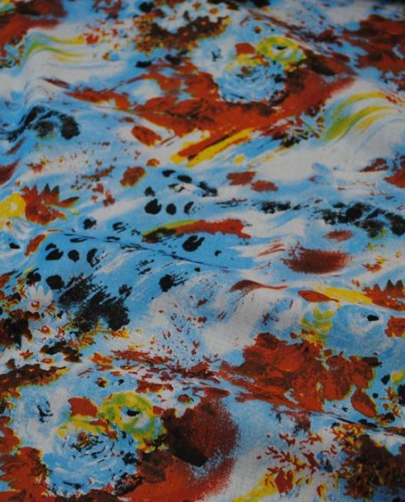 """Ткань Хлопок """"Экзестенциализм"""" 0030 цвет разноцветный абстрактный картинка"""