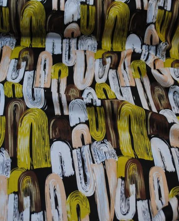 """Ткань Хлопок """"Авангард"""" 0031 цвет разноцветный абстрактный картинка"""