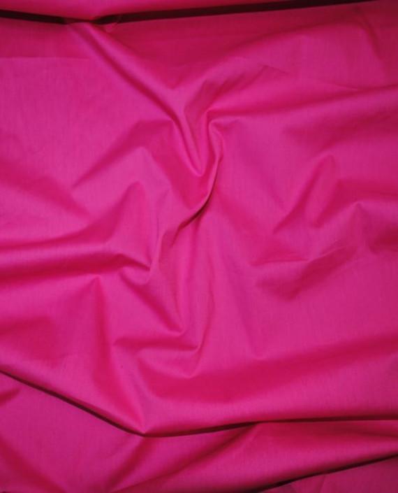 """Ткань Хлопок """"Малиновый"""" 0038 цвет розовый картинка"""