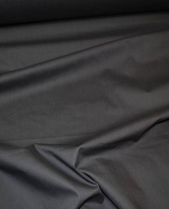 """Ткань Хлопок """"Сумерки"""" 0040 цвет серый картинка"""