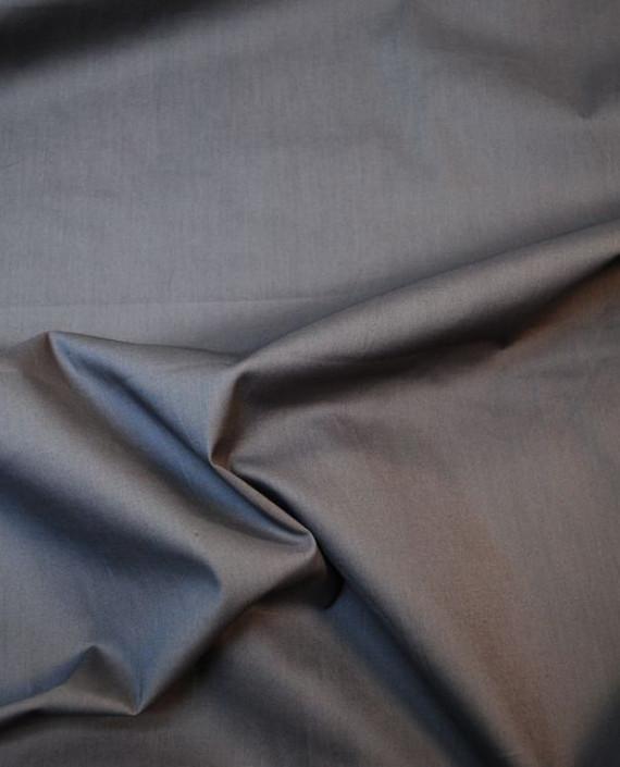 """Ткань Хлопок """"Сумерки"""" 0040 цвет серый картинка 2"""