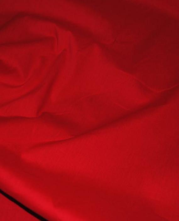 """Ткань Хлопок """"Алый"""" 0041 цвет красный картинка"""