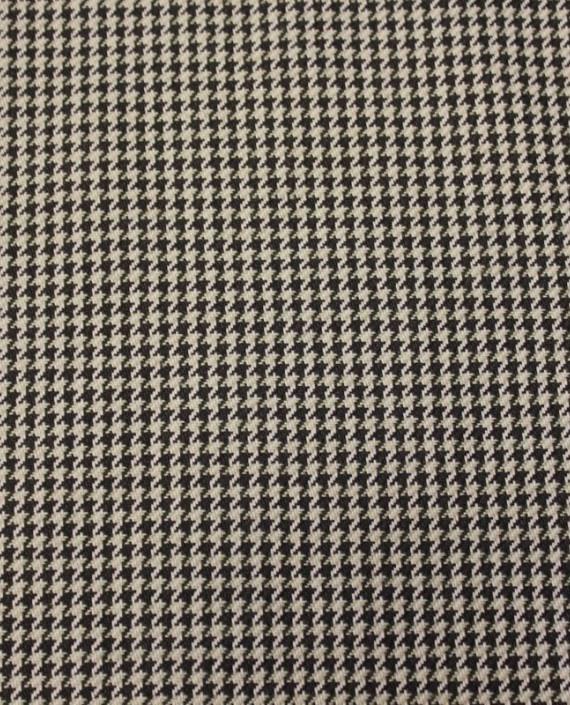 """Ткань Хлопок """"Гусиная Лапка"""" 4005 цвет бежевый гусиная лапка картинка"""