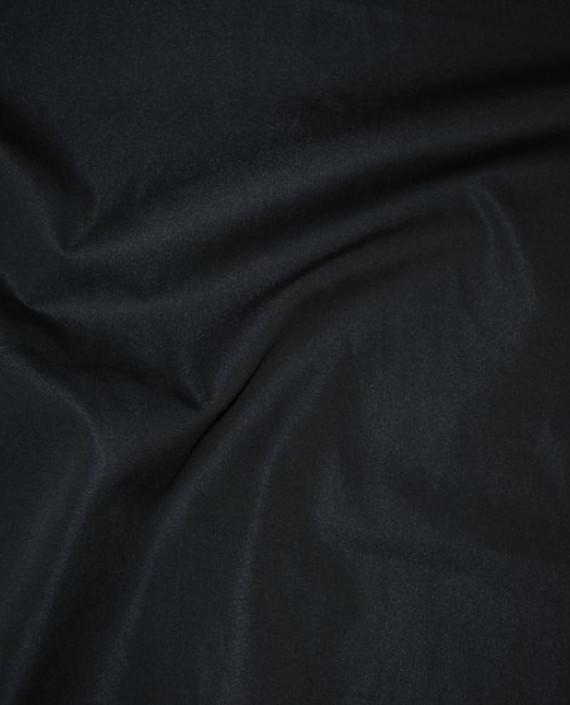 """Ткань Хлопок """"Черный"""" 0002 цвет черный картинка"""
