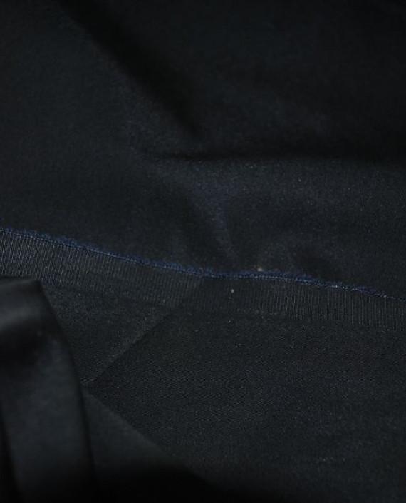 """Ткань Хлопок """"Черный"""" 0002 цвет черный картинка 2"""