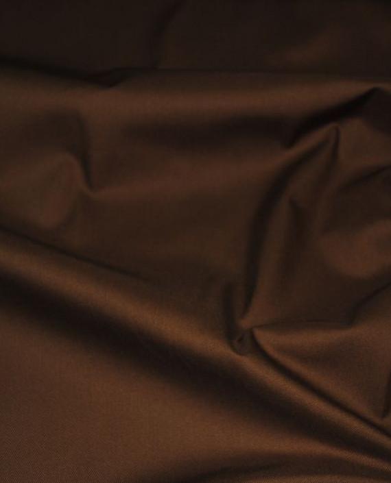 """Ткань хлопок костюмный """"Терракоторый"""" 0005 цвет коричневый картинка"""