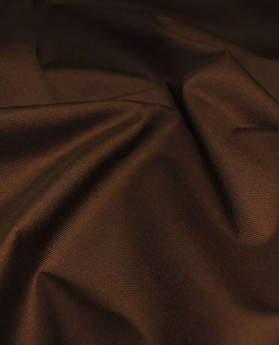 """Ткань хлопок костюмный """"Терракоторый"""" 0005 цвет коричневый картинка 1"""