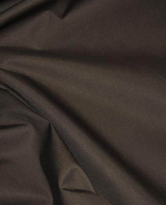 """Ткань хлопок костюмный """"Умбра"""" 0006 цвет коричневый картинка 2"""