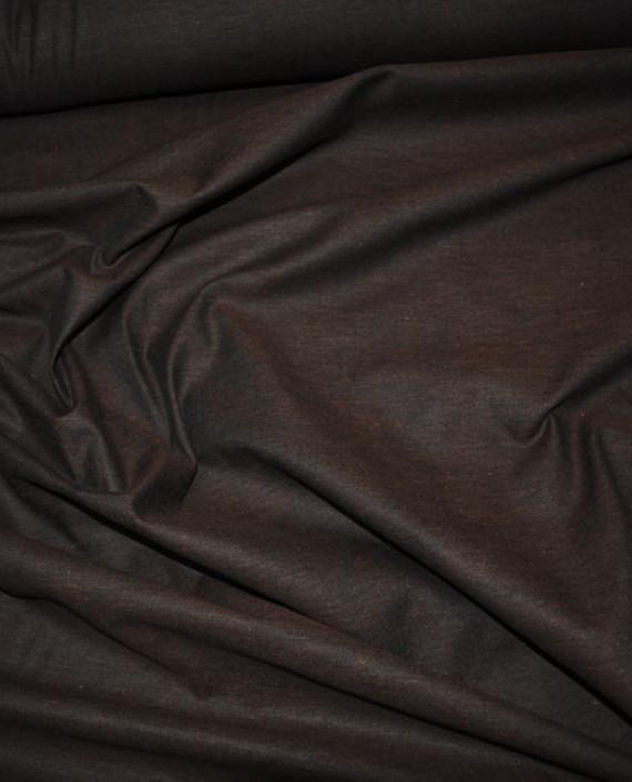 """Ткань хлопок костюмный """"Бурый"""" 0012 цвет коричневый картинка"""