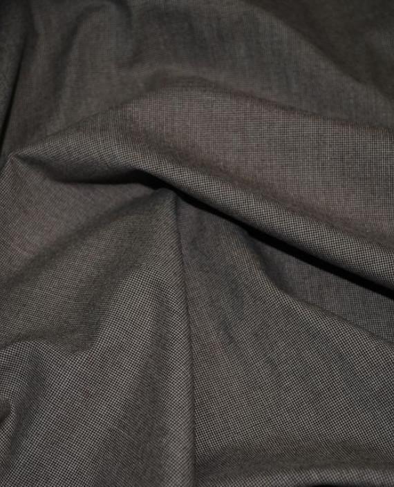 """Ткань Хлопок Костюмный """"Песочная пыль"""" 0015 цвет серый картинка 2"""