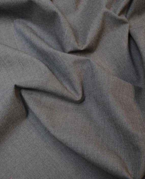 """Ткань Хлопок Костюмный """"Песочная пыль"""" 0015 цвет серый картинка 1"""