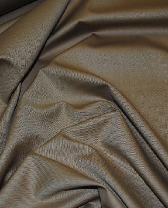 """Ткань Хлопок """"В мелкий ромбик"""" 0023 цвет коричневый картинка"""