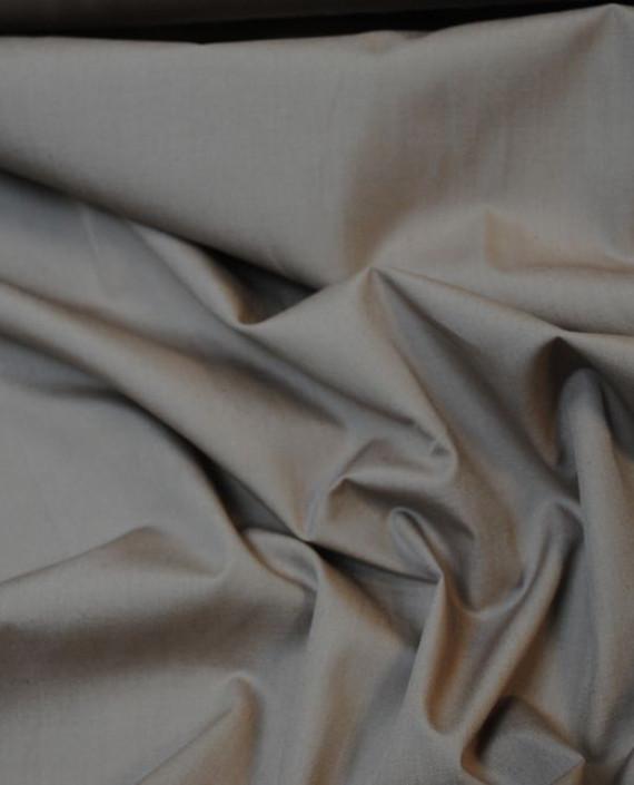 """Ткань Хлопок """"Умбра"""" 0024 цвет серый картинка 2"""