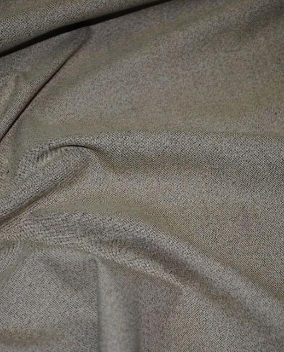 """Ткань Хлопок Пальтовый """"Песок"""" 0025 цвет хаки картинка 1"""