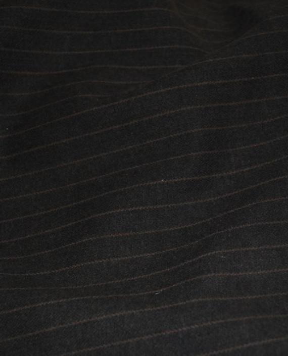 """Ткань Хлопок """"Угольная полоска"""" картинка 1"""