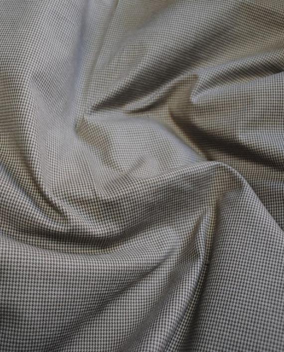 """Ткань Хлопок """"Серая полоска"""" 0047 цвет серый в полоску картинка 2"""