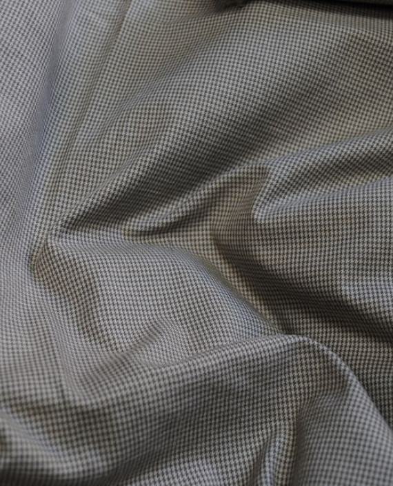 """Ткань Хлопок """"Серая полоска"""" 0047 цвет серый в полоску картинка 1"""