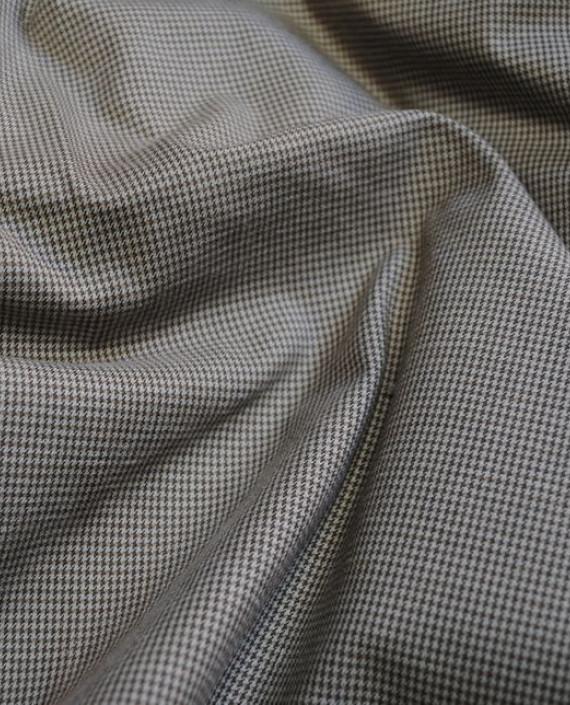 """Ткань Хлопок """"Серая полоска"""" 0047 цвет серый в полоску картинка"""