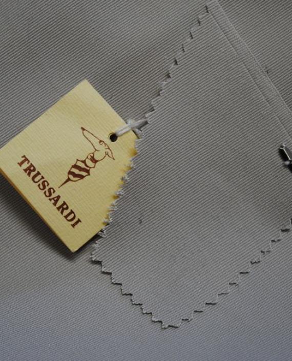 """Ткань Хлопок """"Trussardi"""" 0059 цвет серый картинка"""
