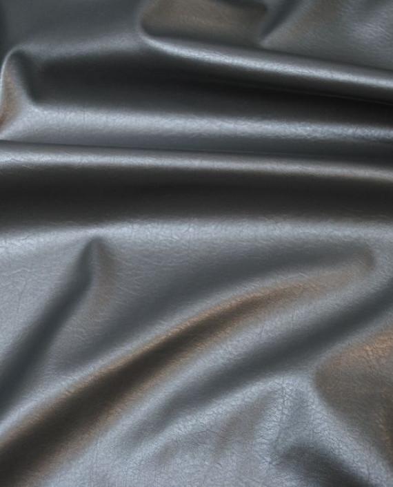 """Искусственная кожа """"Серая"""" 008 цвет серый картинка 3"""