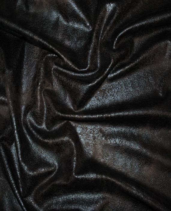 """Искусственная кожа """"Черная"""" картинка"""