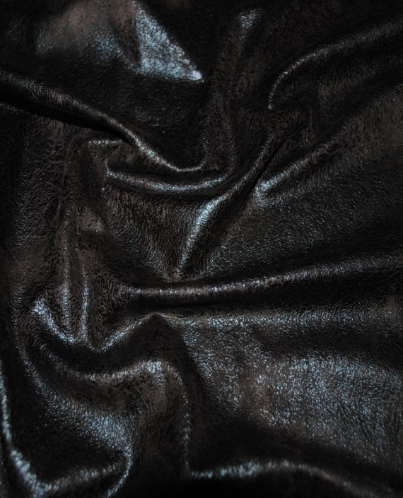 """Искусственная кожа """"Черная"""" картинка 1"""
