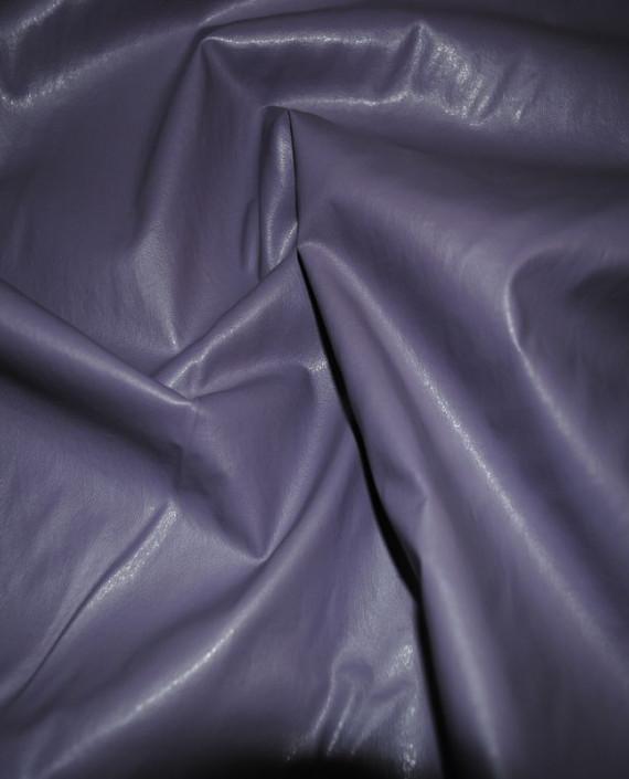 """Искусственная кожа """"Сирень"""" 003 цвет сиреневый картинка 2"""