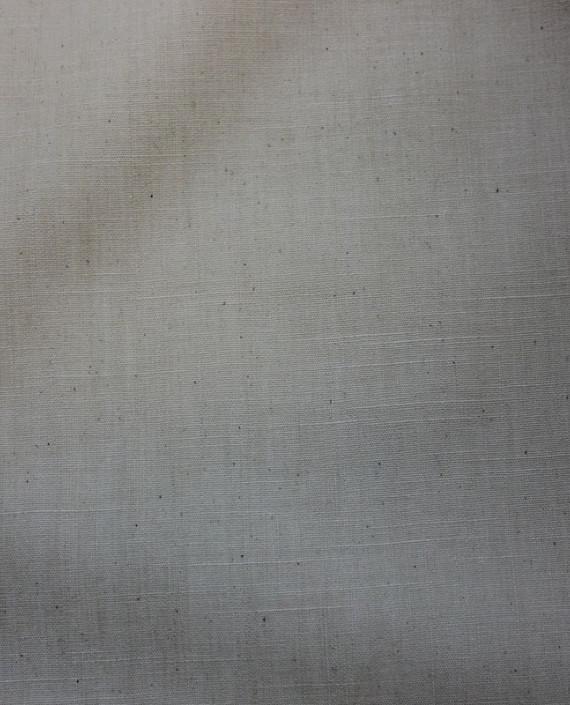 """Ткань Лен """"Грубый"""" 5006 цвет айвори картинка 2"""