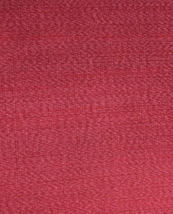 """Ткань Лен """"Кардинал"""" 5003 цвет красный картинка 3"""