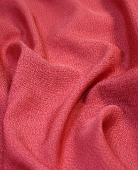 """Ткань Лен """"Кардинал"""" 5003 цвет красный картинка 1"""